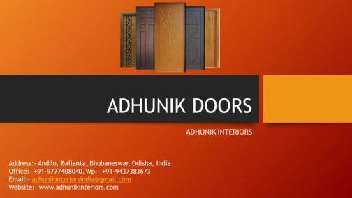 adhunik laminated doors